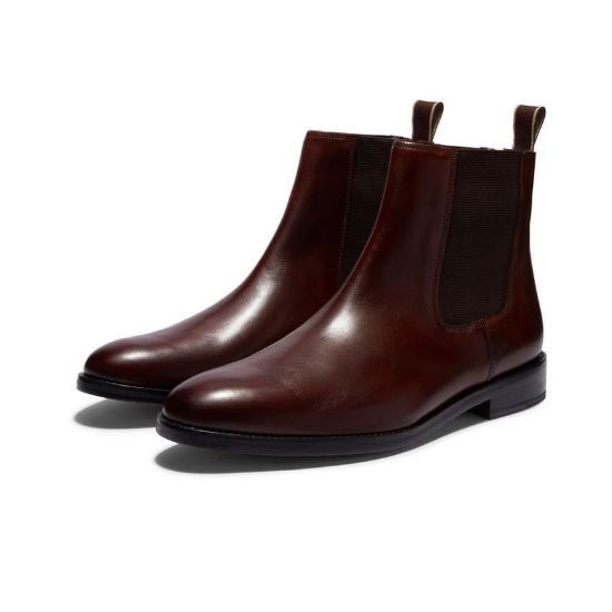 Picture of Dr Martens 2976SR Chelsea Boot Red
