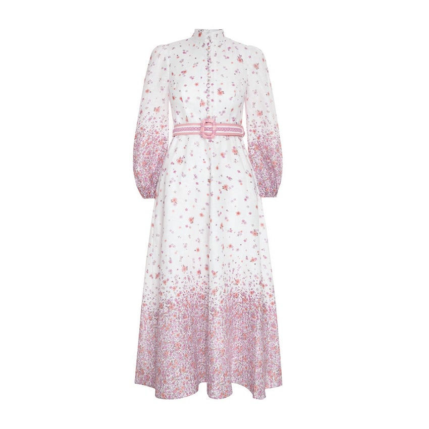 Picture of Carnaby Ditsy Long Dress