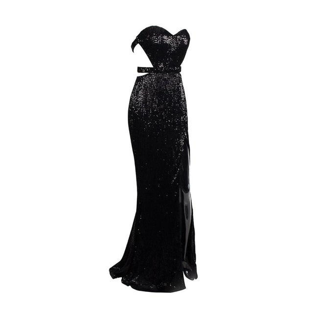 Picture of Long dress black